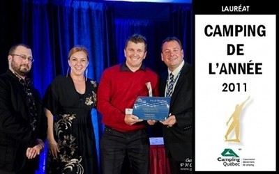 CAMPING OF THE YEAR 2011 IN QUEBEC