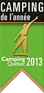 Campground year winner - Quebec campground 2013